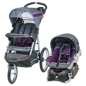 WANTED: 3 wheel travel stroller and carseat