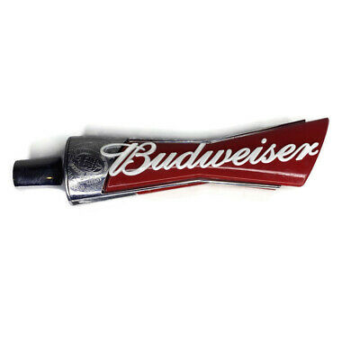 "Budweiser Bowtie Logo Beer Tap Handle Bar Keg 13"" Tall"