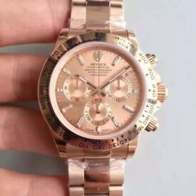 Rolex Oyster Perpetual Daytona FULL ROSE GOLD with FREE TRACKED SHIPPING!