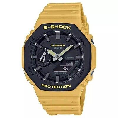 NEW G-SHOCK GA-2110SU-9ADR Classic Carbon Core Beige Men's Watch