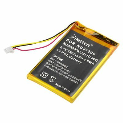 Battery for Garmin Nuvi 250 250W 252W 255 255T 255W W