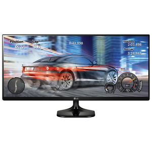 "LG 34"" UltraWide FHD 60Hz 14ms IPS LED Monitor (34UM58-P.AUS)"