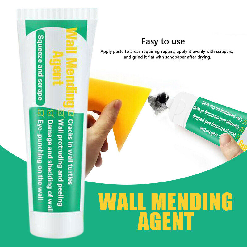 Universal Wall Mending Agent 100g Crack Nail Screw Holes Repairing Cream