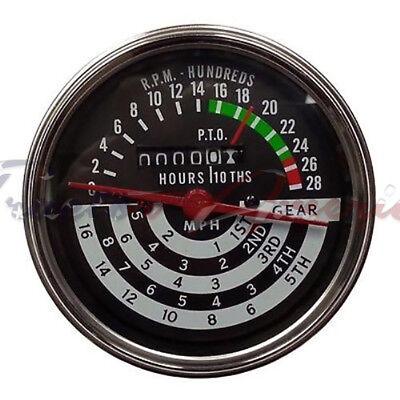 Tachometer Tach Hour Meter For John Deere 420 430 440 5 Speed At13366