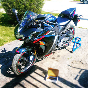 2015 -Yamaha YZF R3 - only driven for 1 season