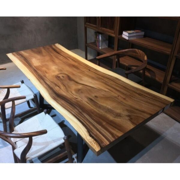 TSAW 039 South America Walnut Solid Wood Dining Table