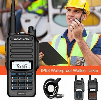 UV-9R 18W Plus Baofeng VHF UHF Walkie Talkie Dual Band Handheld Two Way Radio
