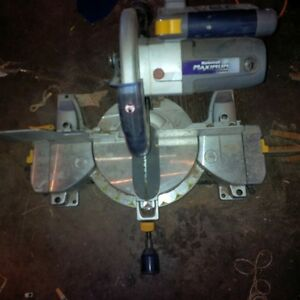 "Mastercraft 10"" bench saw - Mastercraft 10"" Mitre saw"