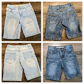 Boys Primark Demin Shorts Bundle Bundle X 2 6-7years