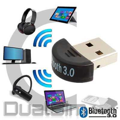 Bluetooth 3.0 USB 2.0 Stick HighSpeed V3 Nano BT Adapter - Mini Dongle EDR Win Bluetooth 2.0 Edr