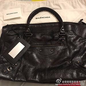Balenciaga Work Handbag Black