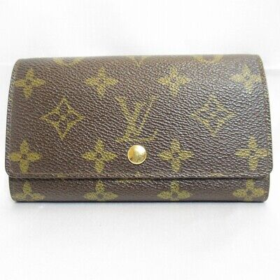 Authentic LOUIS VUITTON M58007 Porte Monnaie Accordeon Coin Purse (120223)