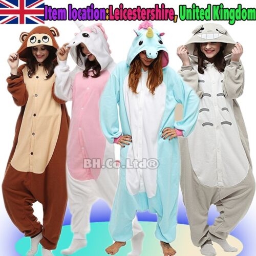 Unisex Birthday Party Onesie1 Custume Cosplay Adult Kigurumi Pajamas Sleepwear