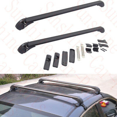 2pcs Car Auto Roof Rack Rail Carrier Bars RefitDIY For Chevrolet Cruze 2008-2014