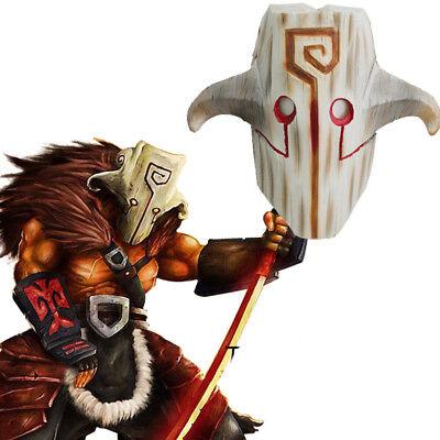 Dota 2 Halloween (Adult Men Halloween Dota 2 Juggernaut Yurnero Mask Blade Master Cosplay Props)