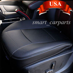 USA! PU Leather 3D Full Surround Car Seat Protector Cover Accessories Black Sale