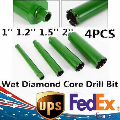 Wet Diamond Core Drill Bit For Concrete - Green Series11.21.5 2 Usa Ship