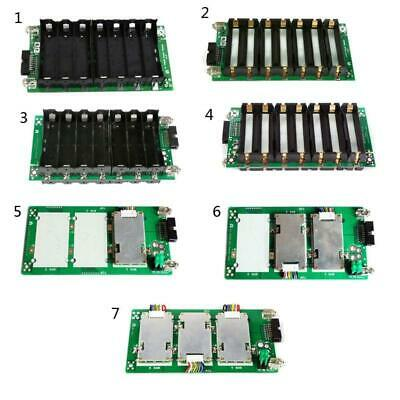 7s Power Wall Balancer Pcb 18650 Battery Holder Case 204060a Protection Board