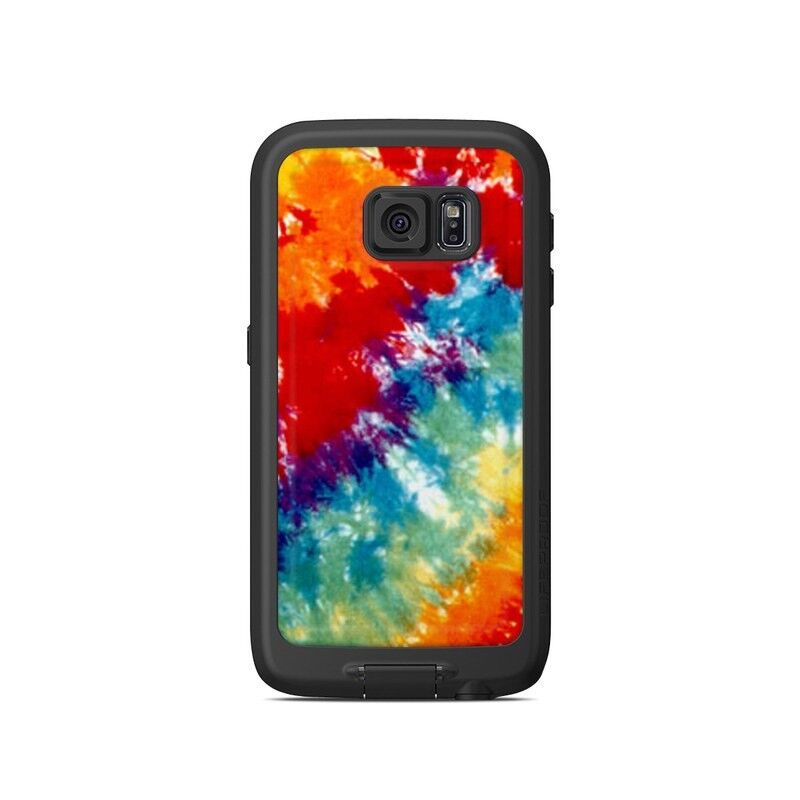 Skin for LifeProof Galaxy S6 FRE Case - Tie Dyed - Sticker Decal