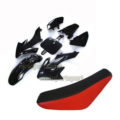 Plastic Fairing Body Kits Tall Foam Seat For Chinese Pit Dirt Trail Motor Bike Dirt Bike Body Kits