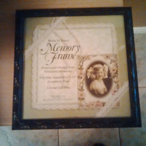 scrapbook page picture frame