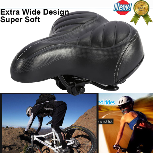 Cycling Road Bike Bicycle Extra Comfort Soft Gel Saddle Seat