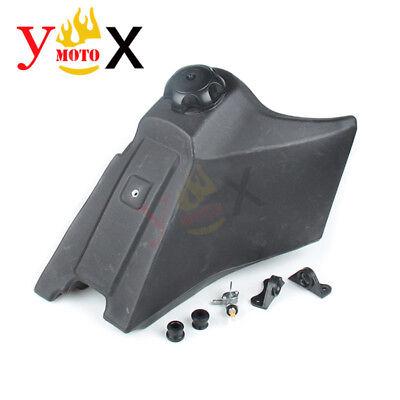 Off-road Motorcross Gas Fuel Tank Black For Two-stroke Yamaha YZ85 2007-2016