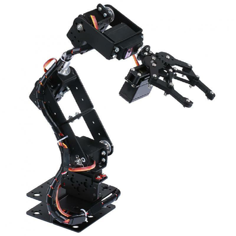 NEW mechanical 6DOF robotic arm claw for robotics kit