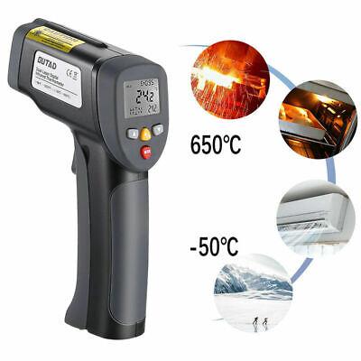 Us Temperature Gun Non-contact Digital Laser Infrared Thermometer Ir Temp Meter