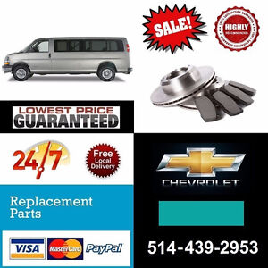 Chevrolet Express ► Brakes and Rotors • Freins et Disques