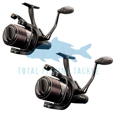Fox NEW Carp Fishing EOS 10000 Free Spool Freespool Reel x2 - CRL059
