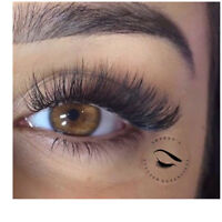 ** $65 FULL SET CLASSIC EYELASH EXTENSION