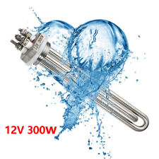 8 12v 300w Stainless Steel Immersion Water Heater