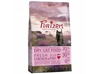 2.5kg bag of Purizon Kitten Chicken & Fish Cat Food 70% meat & grain free. Free Christmas Toy!