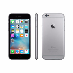 iPhone 6 64GB Space Grey with case and tempered glass.