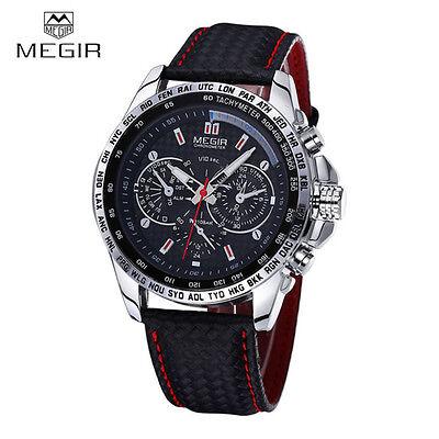 MEGIR 1010 Brand Fashion Military Sports Watch