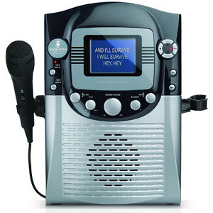 SINGING MACHINE HAS COLOUR LCD MONITOR