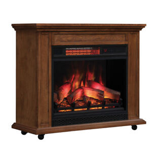 Carlisle 1,000 Sq. Ft. Infrared Fireplace Heater