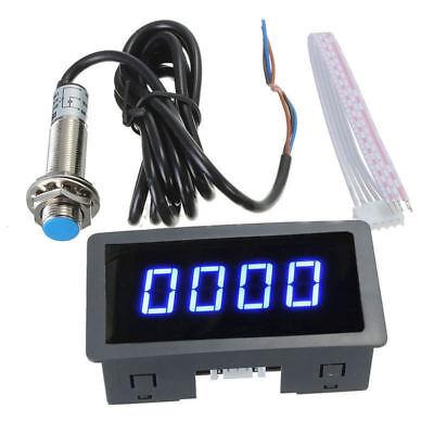 Digital LCD Drehzahlmesser Hour Meter Tachometer Gauge RPM Prüfvorrichtung Auto