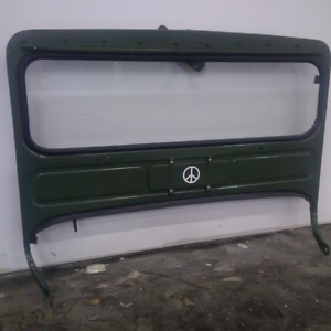 1950 M38 Military Willy's Kiaser Jeep Windshield Assy Rust Free
