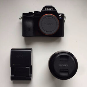 Sony A7s Body with OpticalSteadyShot 28 - 70mm Zoom Lens