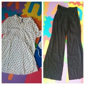 New with Tags - Thyme shirt M ($15) - Old Navy pants XS ($10)