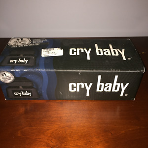 CRY BABY PEDAL - #1 selling pedal of all time/  Gently Used