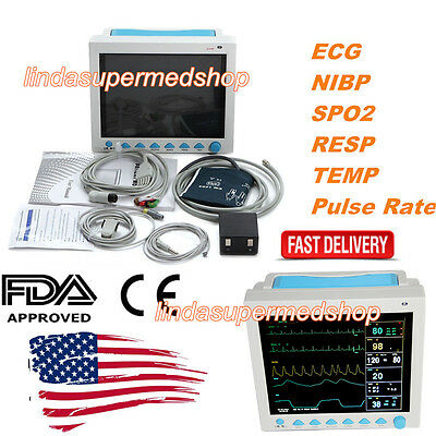 Fda Us Multiparameter Icuccu Patient Monitorecgnibptempresppulse Ratespo2