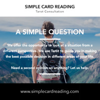 Simple Card Reading - Tarot Consultation