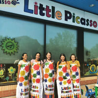 Little Picasso's Art Centre child care spaces now available!