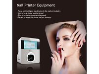 New 3D DIY Nails Art Printer Machine with your own designs