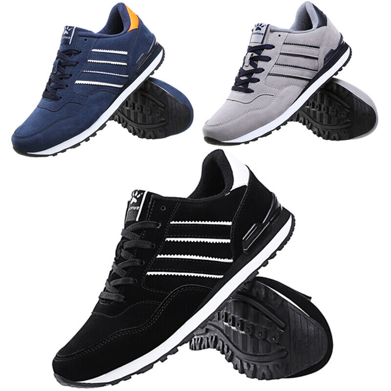 US Mens Trainers Running Gym Fitness Shoes Mesh Sneakers Lac