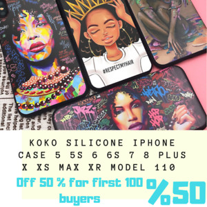 KOKO Silicone iPhone Case 5 5S 6 6S 7 8 Plus X XS Max XR