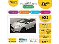 Ford Fiesta 1.6 ( 182ps ) EcoBoost 2013.25MY ST 2 FROM £57 PER WEEK.